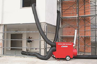 Отопление в промышленных масштабах