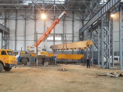 Konecranes стала основным поставщиком кранов для заводов «КОНАР»