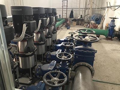 В Карелии запущена насосная станция на базе оборудования Grundfos