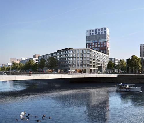 Город Хельсинки выбрал консорциум YIT и A-Kruunu победителем конкурса «Kalasatama Nihti»
