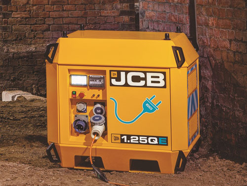 JCB расширила линейку электрической техники
