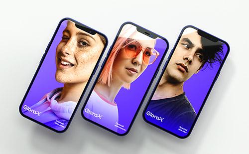 Новый технологичный драйвовый бренд образа жизни для GloraX Development