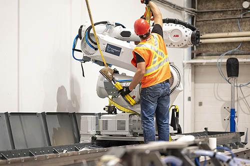Роботы ABB помогают строить экодома