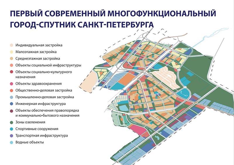 Первое жилье в городе-спутнике Южный построят к 2024 году